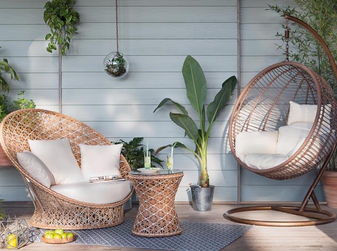 mobilier de jardin la collection 2016 jardiland elle d coration. Black Bedroom Furniture Sets. Home Design Ideas