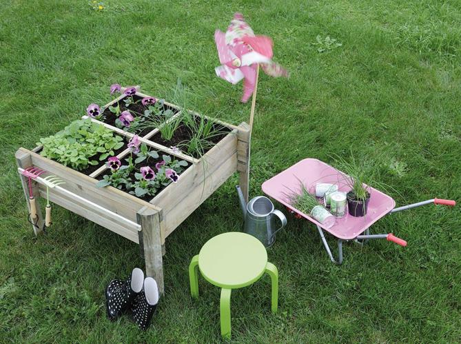 Quand le jardinage devient un jeu d enfant elle d coration for Site de jardinage