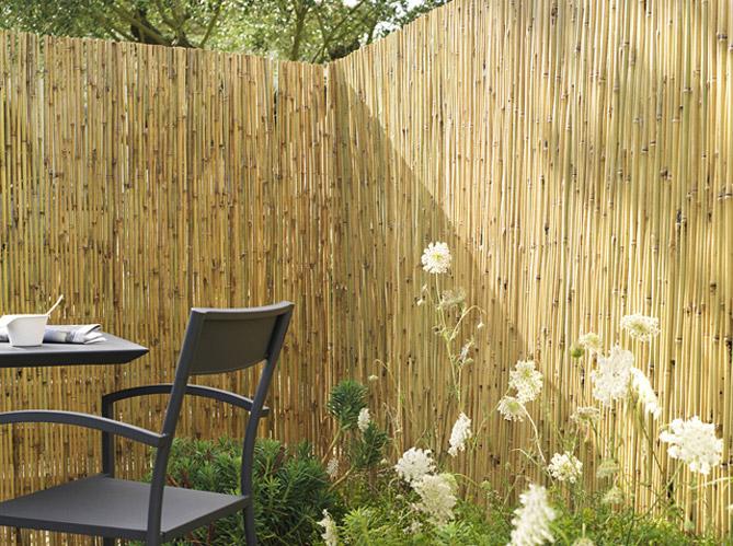 pare vue et brise vent prot gent le jardin elle d coration. Black Bedroom Furniture Sets. Home Design Ideas