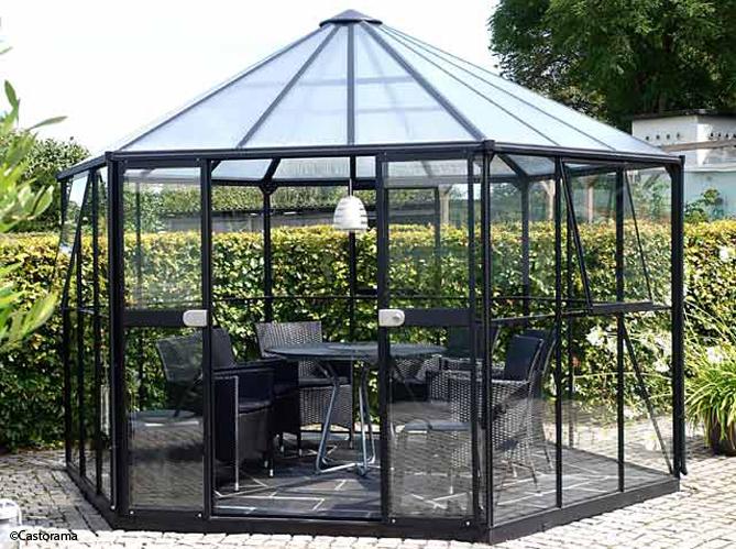 Pergolas et gloriettes l architecture au jardin elle d coration - Gloriettes de jardin ...