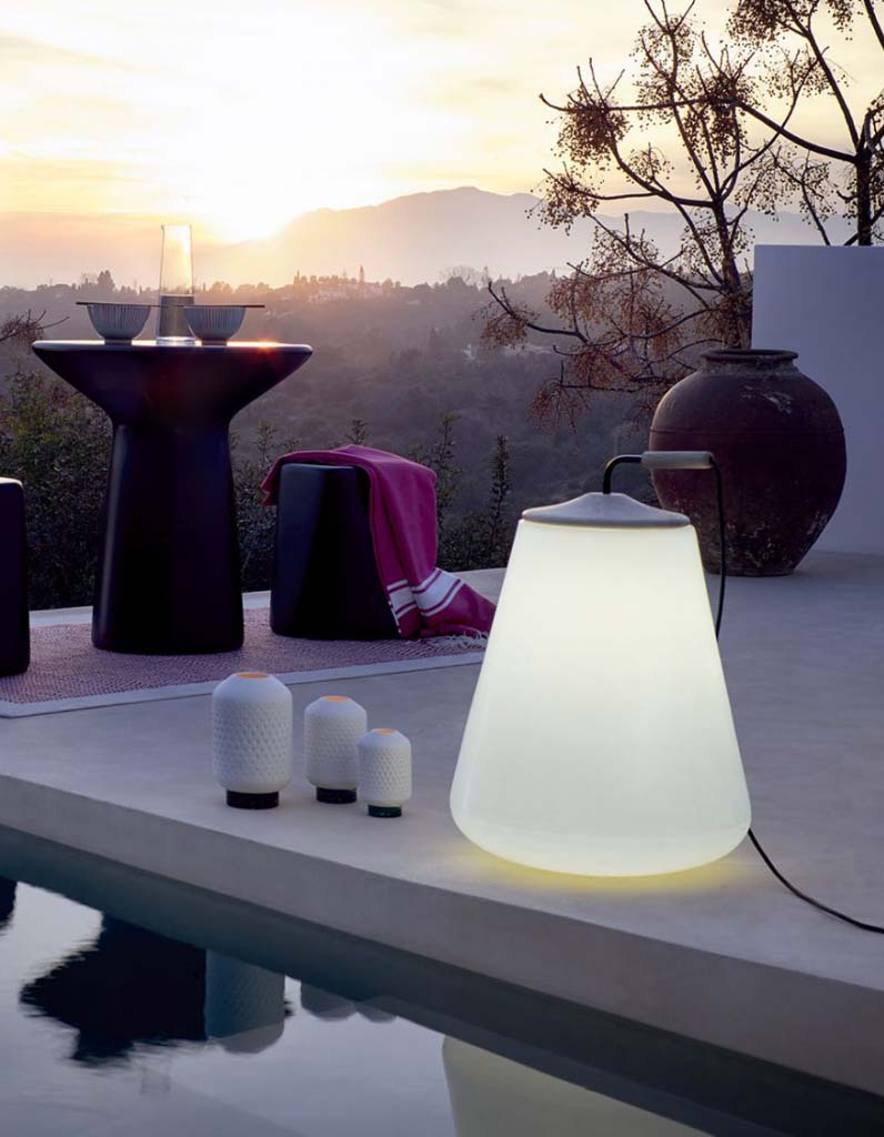 Luminaire outdoor s lection des mod les du moment pour for Luminaire terrasse design