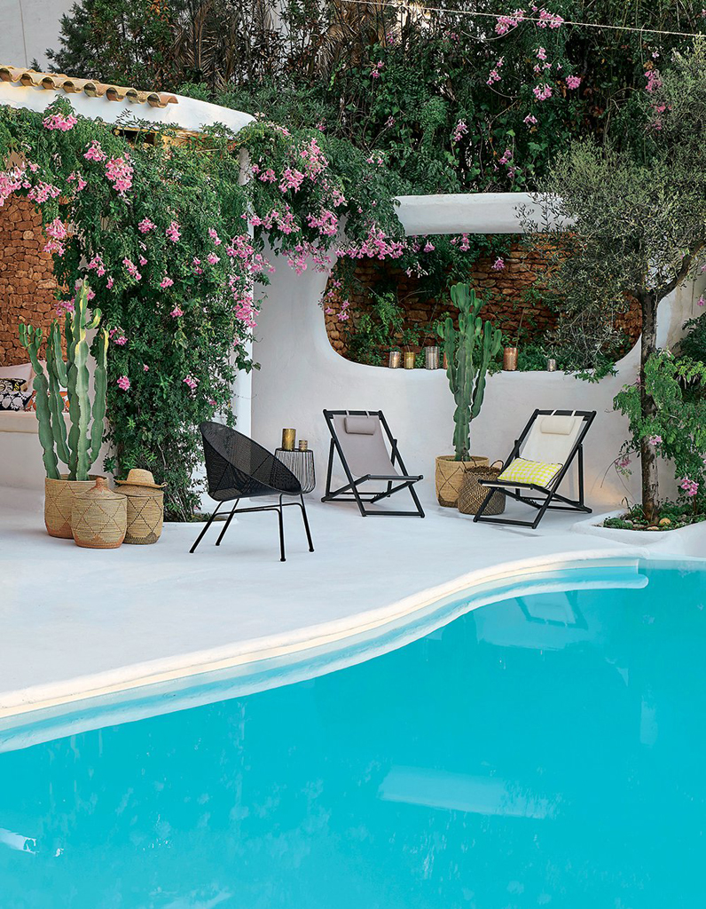 terrasse avec piscine d couvrez nos plus belles id es d co elle d coration. Black Bedroom Furniture Sets. Home Design Ideas