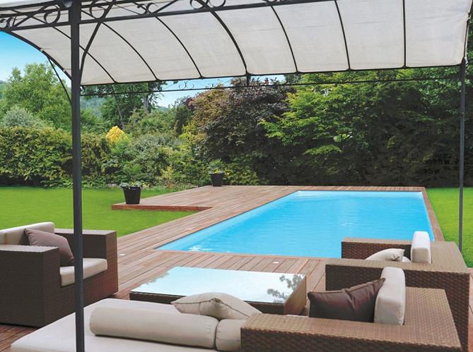 un coin piscine ultra d co elle d coration. Black Bedroom Furniture Sets. Home Design Ideas
