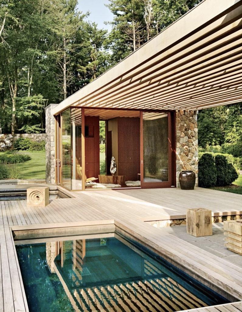 Pinterest les 30 plus belles piscines qui vont vous for Decoration exterieur piscine