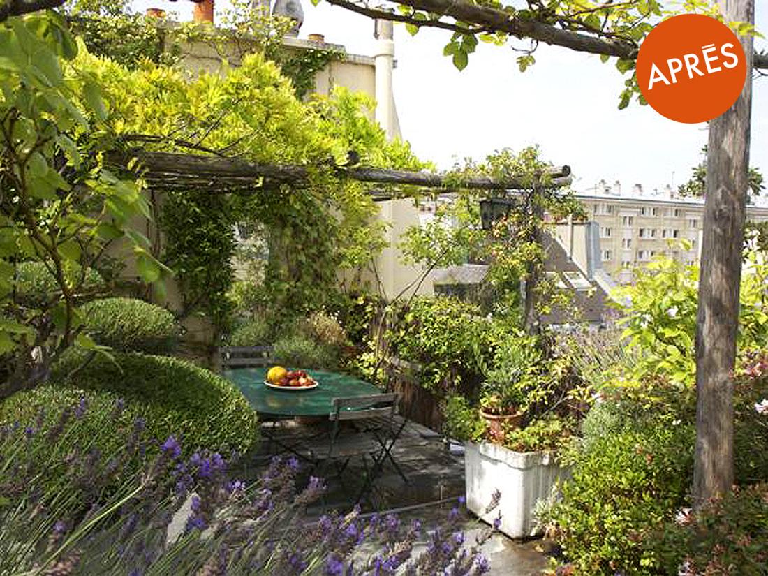 Astuces d expert pour relooker son balcon elle d coration for Amenager son jardin avec des plantes