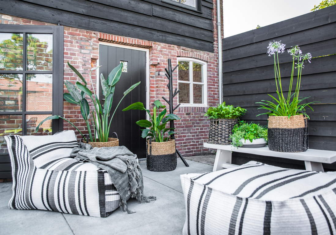 deco terrasse exterieure. Black Bedroom Furniture Sets. Home Design Ideas