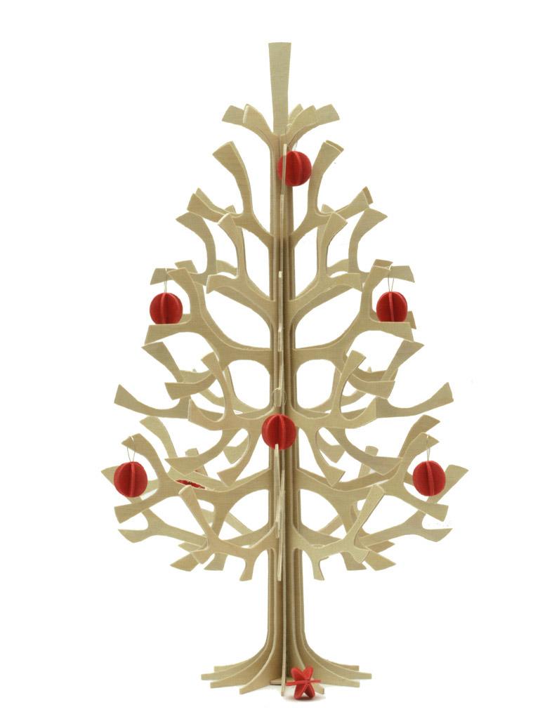 Sapin lovi design ikonik no l on s offre un sapin for Albero natale conforama