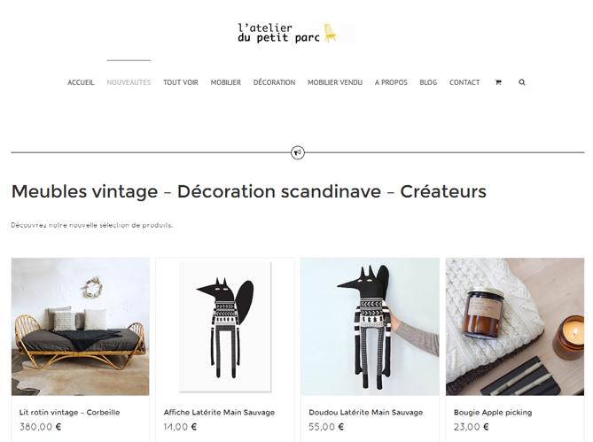 atelier du petit parc elle d coration. Black Bedroom Furniture Sets. Home Design Ideas