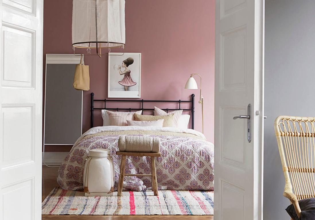 D coration rose poudr du rose poudr pour un int rieur tout doux elle d coration - Deco chambre rose poudre ...