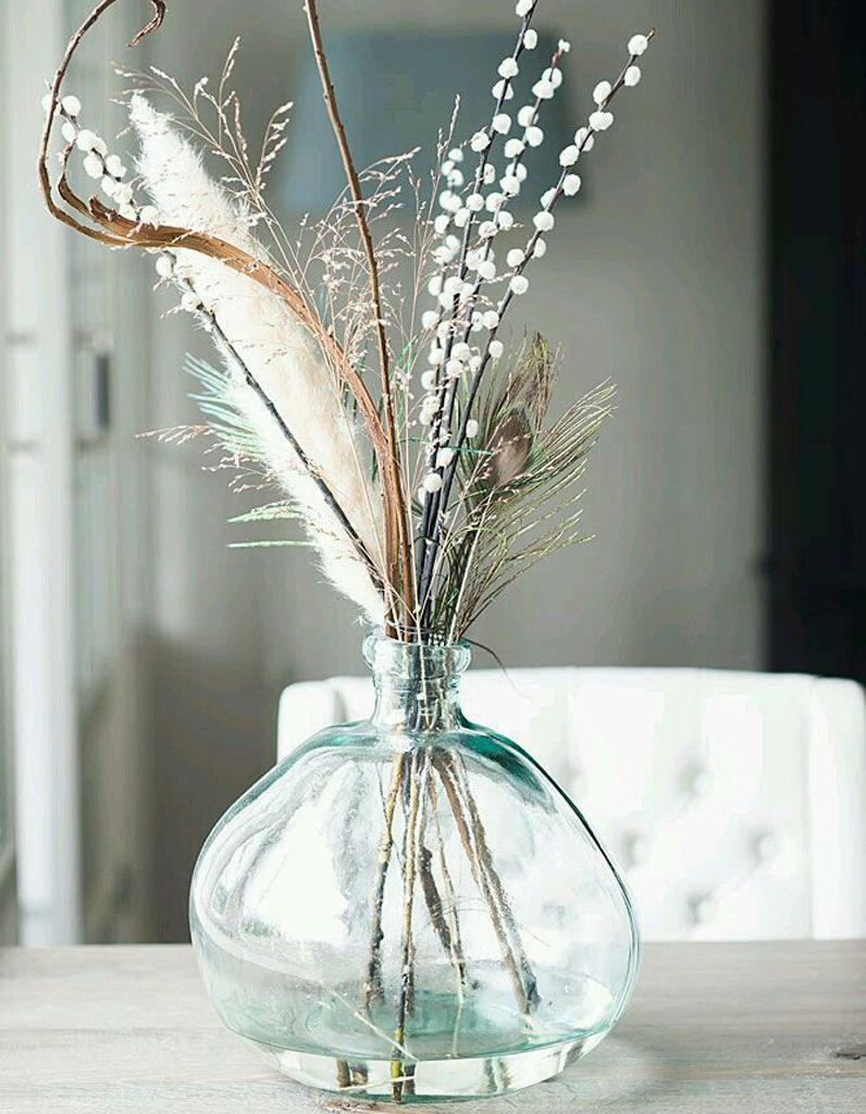 Le tr s grand retour des fleurs s ch es elle d coration for Decoratie op eettafel