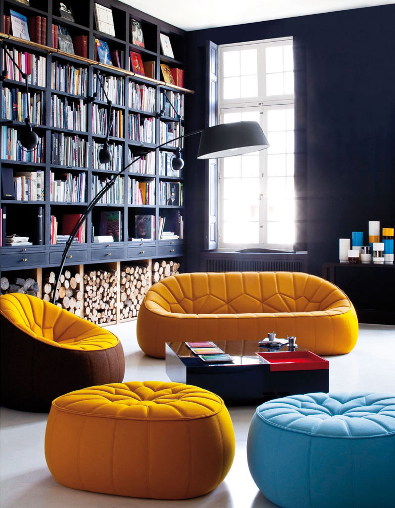 d co les 4 saisons en jaune curry elle d coration. Black Bedroom Furniture Sets. Home Design Ideas