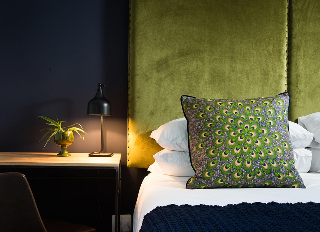 Vert la preuve que le vert est la couleur de l 39 ann e 2017 elle d cora - Tete de lit tendance ...