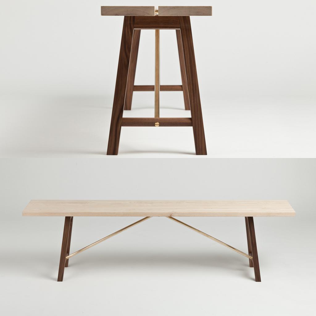 Banquette En Bois Pour Salon se rapportant à banc en bois : le banc l'assise tendance qui remplace la chaise