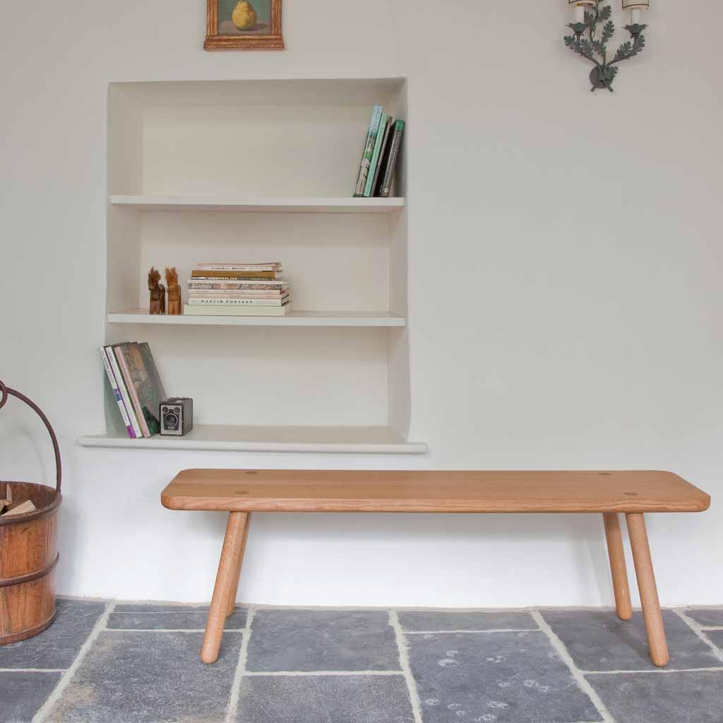 Banc En Bois Design - banc en bois le banc l'assise tendance qui remplace la chaise Elle Décoration