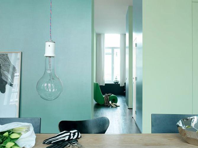 Le turquoise le bleu qu 39 on adore elle d coration - Deco cuisine bleu turquoise ...