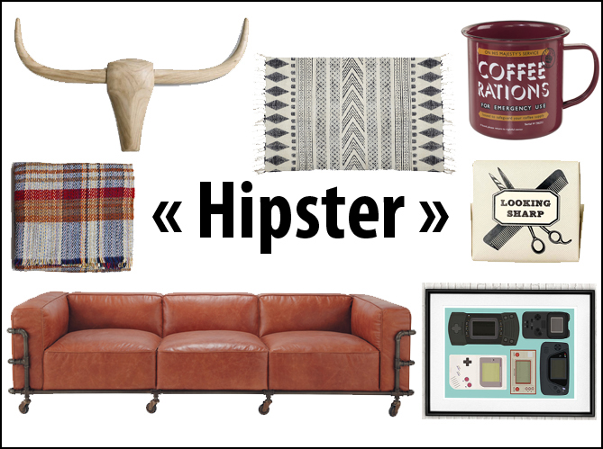 soyez hipster dans votre int rieur elle d coration. Black Bedroom Furniture Sets. Home Design Ideas