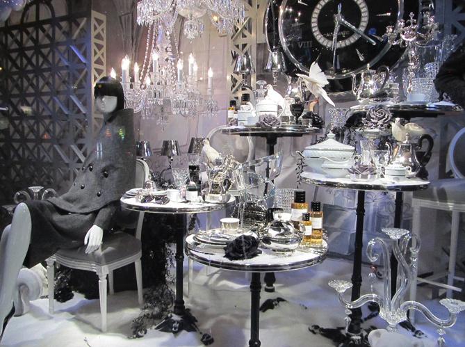 Illuminations et vitrines de no l paris elle d coration for Deco vitrine noel