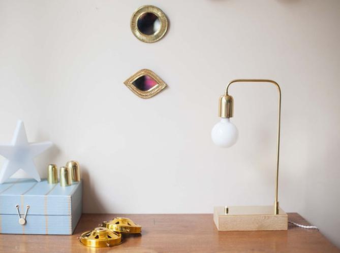 L 39 objet d co du jour la lampe poser vanity boum elle d coration - Objet deco industrielle ...