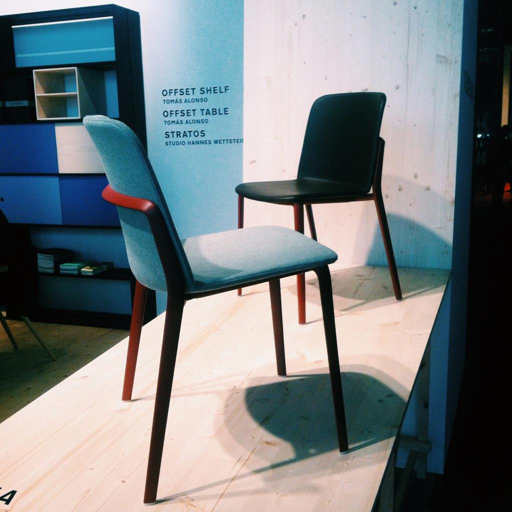 Toutes les nouveaut s qu on a ador es au salon du meuble for Toutes les chaises