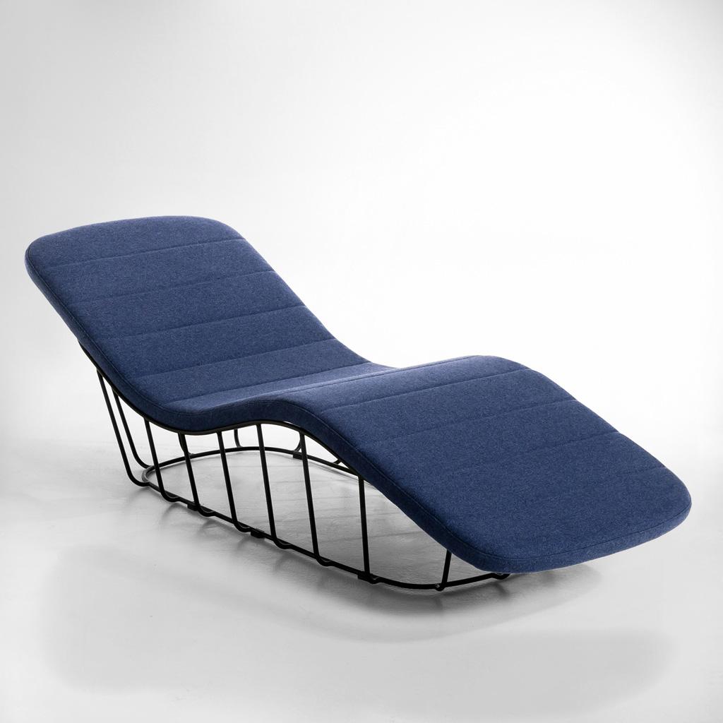 Nouvelle tendance d co les meubles grillage en m tal for Chaise grillage design