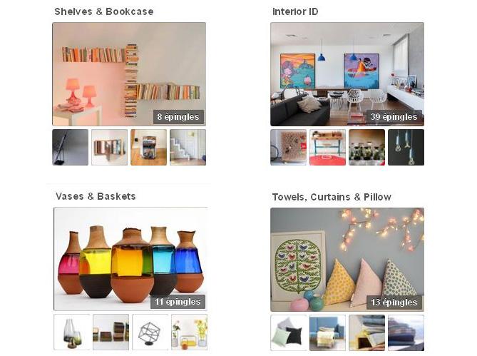 nos 50 comptes pinterest pr f r s elle d coration. Black Bedroom Furniture Sets. Home Design Ideas