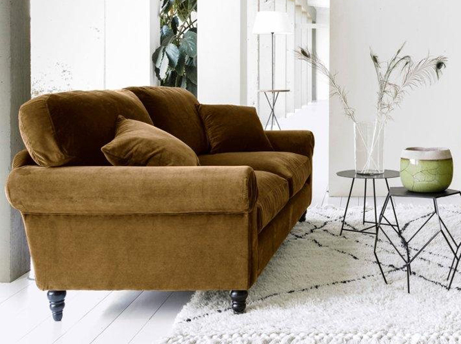 le grand retour du velours dans nos int rieurs elle d coration. Black Bedroom Furniture Sets. Home Design Ideas