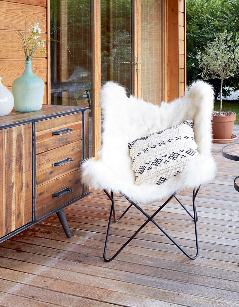 Votre fauteuil ZAGO pour une ambiance cozy et cocooning Elle