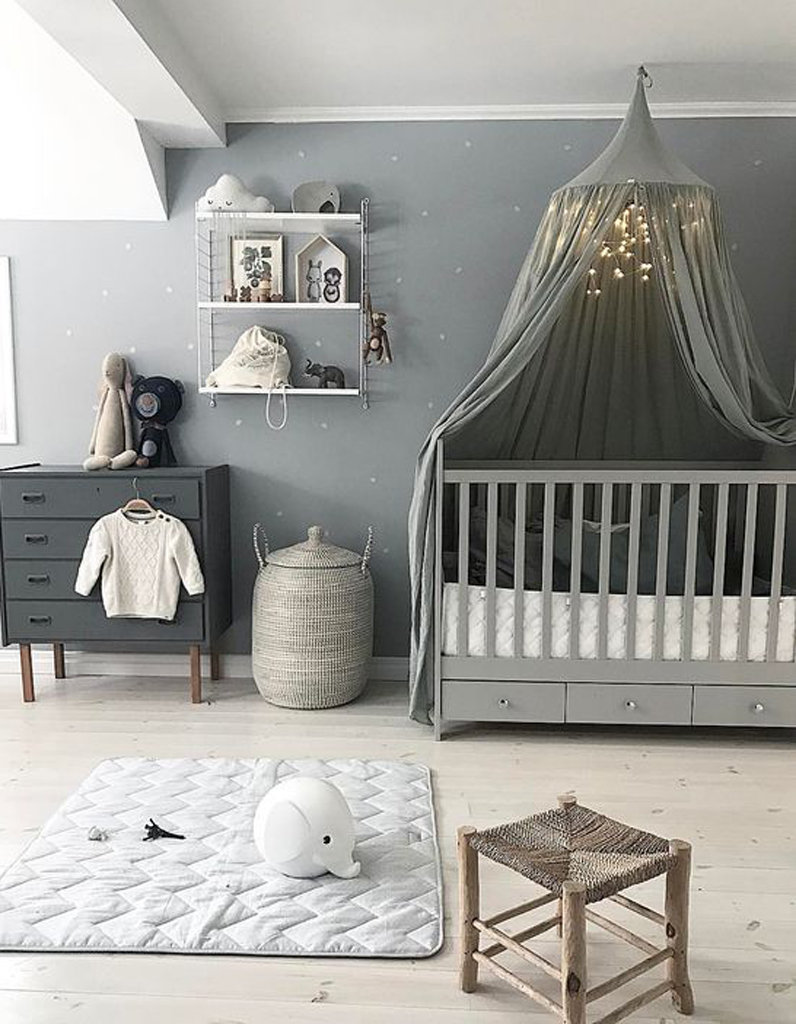 idee deco chambre bebe fille rose et gris. Black Bedroom Furniture Sets. Home Design Ideas