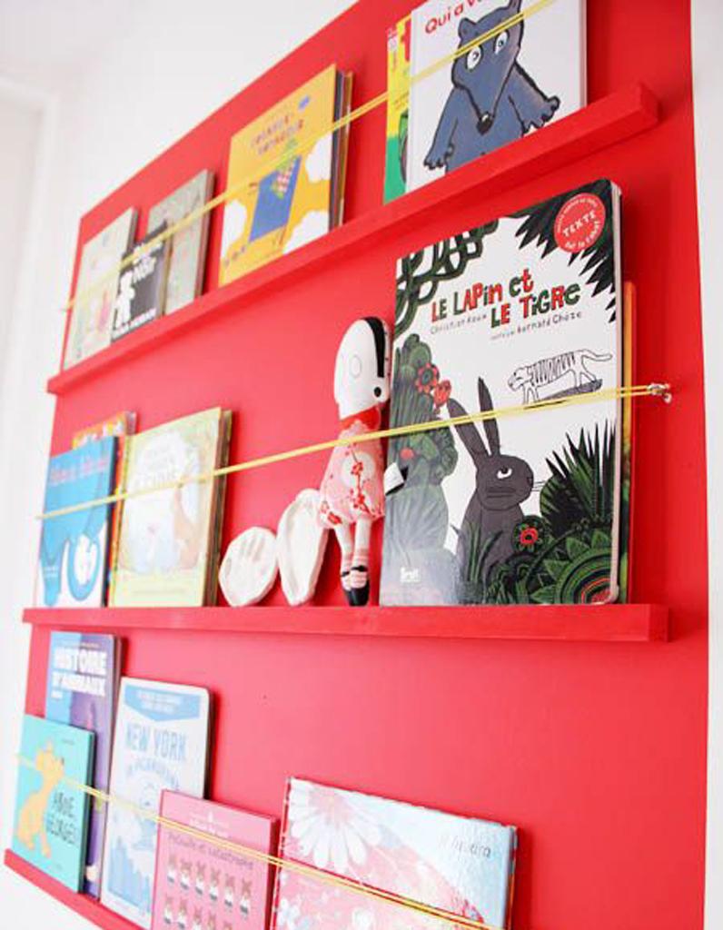 rangement livres enfants nos id es pour ranger des livres pour enfants facilement elle. Black Bedroom Furniture Sets. Home Design Ideas