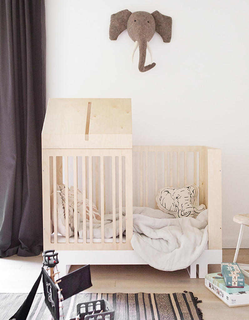 Craquez pour un lit cabane dans la chambre d 39 enfant elle for Decoration pour lit