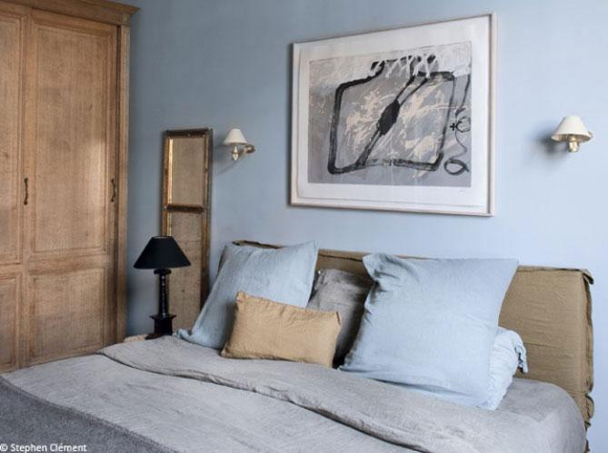 Stunning Chambre Adulte Bleu Ciel Images - Design Trends 2017 ...