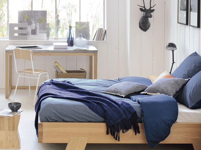 Une chambre cosy pour l 39 automne elle d coration for Bureau cocooning