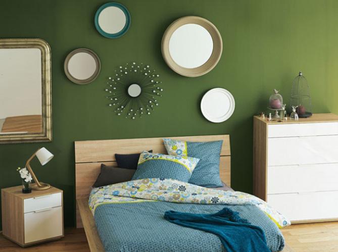 Chambre on mise sur des murs color s elle d coration for Decoration usa pour chambre