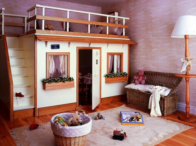 Coup de c ur pour les cabanes d enfants elle d coration for Decoration chambre real madrid