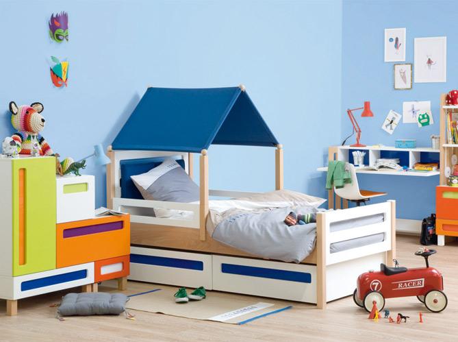 Des meubles volutifs ultra cr atifs elle d coration for Idee deco chambre garcon 5 ans