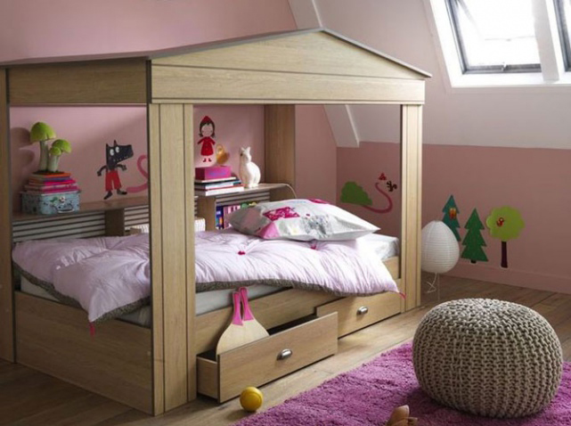 les plus jolies chambres d 39 enfants de la rentr e elle. Black Bedroom Furniture Sets. Home Design Ideas