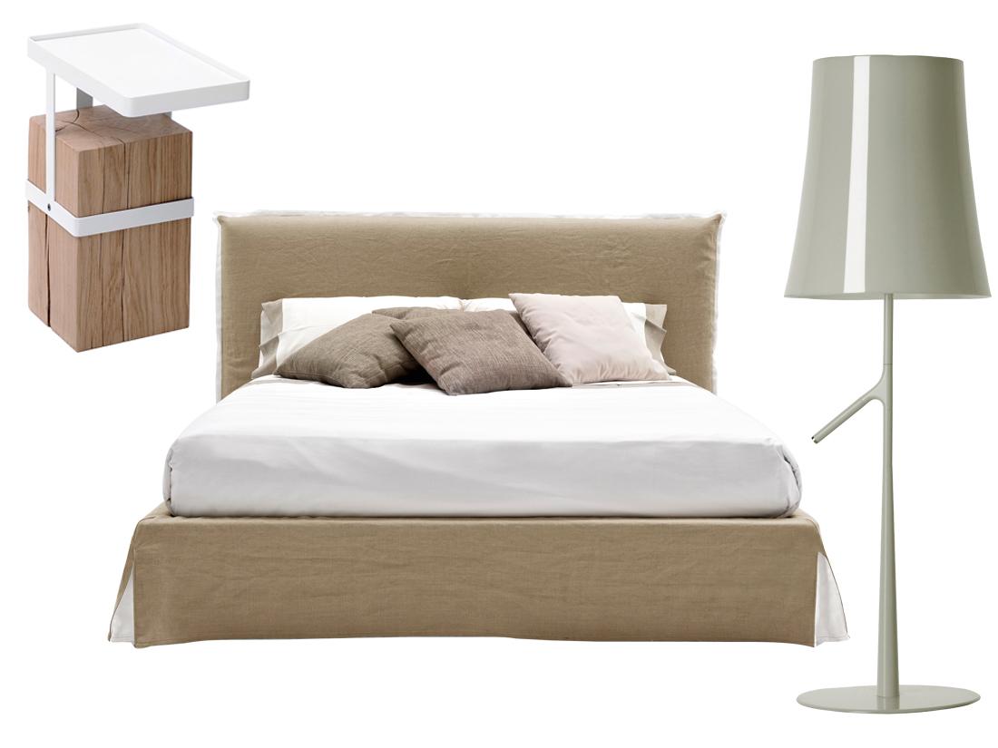 Lit, chevet, lampe : le bon mix pour une chambre idéale   elle ...