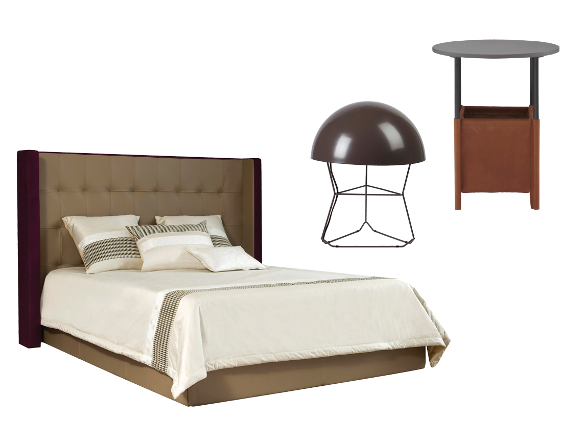 chambre marron glace. Black Bedroom Furniture Sets. Home Design Ideas