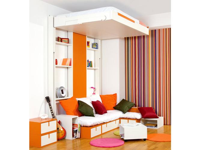 canap s vs lits convertibles comment gagner de la place elle d coration. Black Bedroom Furniture Sets. Home Design Ideas