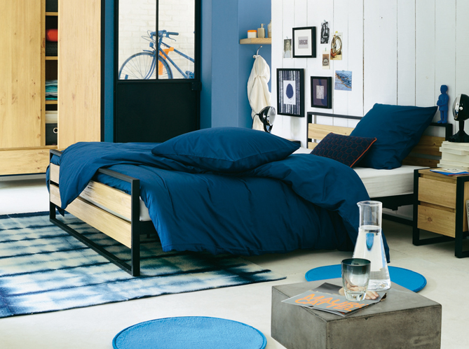 trouver cadre de lit 5 marques pour trouver son cadre de lit elle d coration. Black Bedroom Furniture Sets. Home Design Ideas