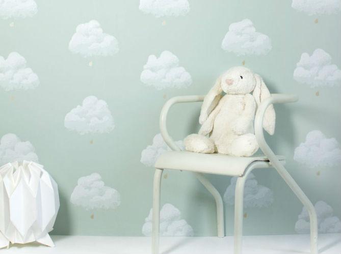 Papier peint enfant 15 id es fun pour sa chambre elle for Tapisserie chambre bebe