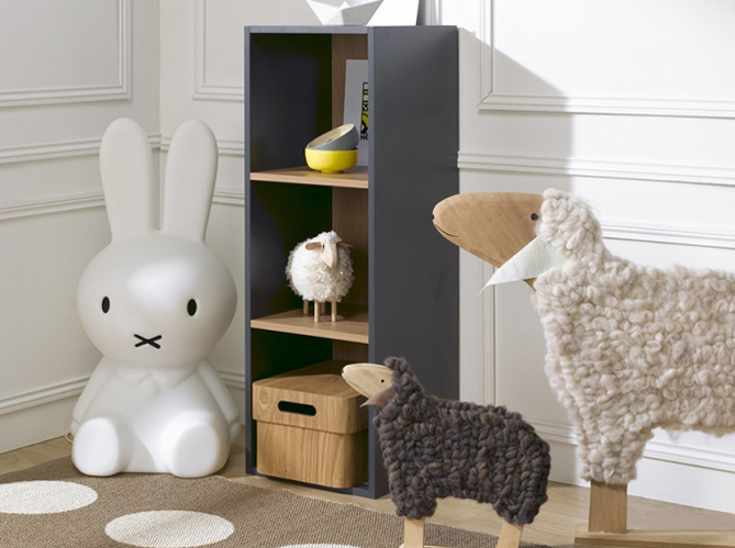 chambres d 39 enfants 30 id es pratiques pour ranger elle d coration. Black Bedroom Furniture Sets. Home Design Ideas