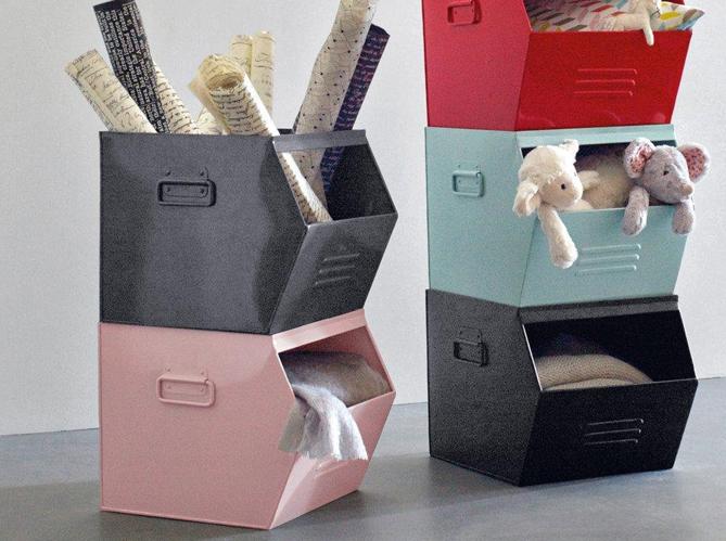 chambres d 39 enfants 30 id es pratiques pour ranger elle d coration. Black Bedroom Furniture Sets. Home Design Ideas