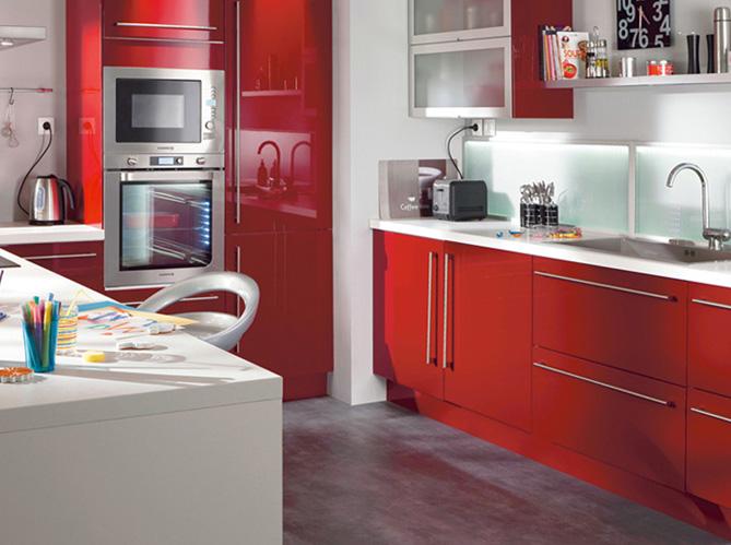 Chambre New York Pour Garcon : Cuisine rouge conforama