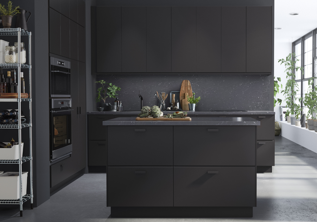 30 cuisines qui nous font r ver elle d coration. Black Bedroom Furniture Sets. Home Design Ideas