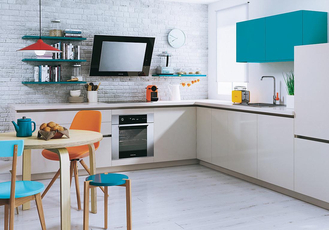 cuisine scandinave bleu xm66 jornalagora. Black Bedroom Furniture Sets. Home Design Ideas