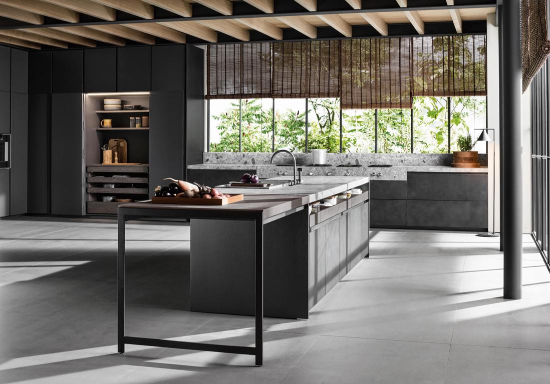 Deco cuisine grise trendy prix cuisine ikea complete for Quel prix pour une cuisine
