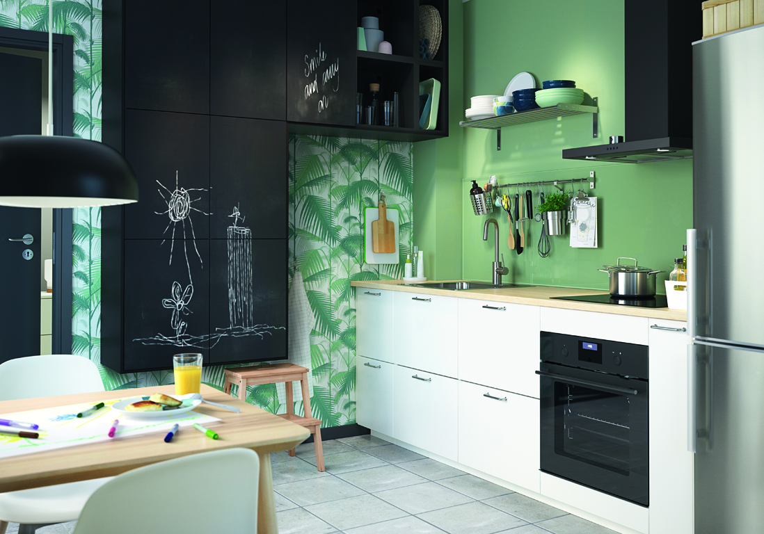 cuisine ikea nos mod les de cuisines pr f r s elle d coration. Black Bedroom Furniture Sets. Home Design Ideas