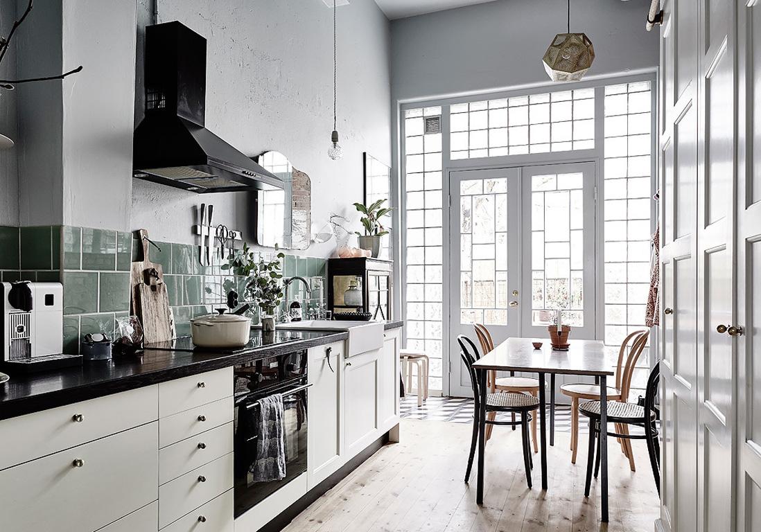Woods Wallpaper Kitchen