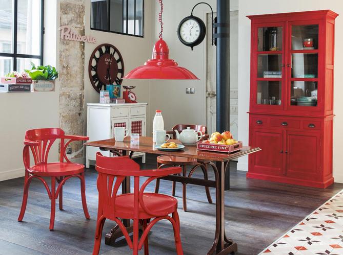 la d co bistrot s 39 invite chez vous elle d coration. Black Bedroom Furniture Sets. Home Design Ideas